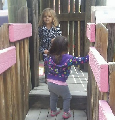 Girls at the Park