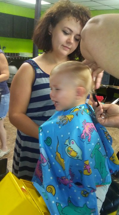 We Got the First Haircut!!! (Regardless of how many firsts we lost)
