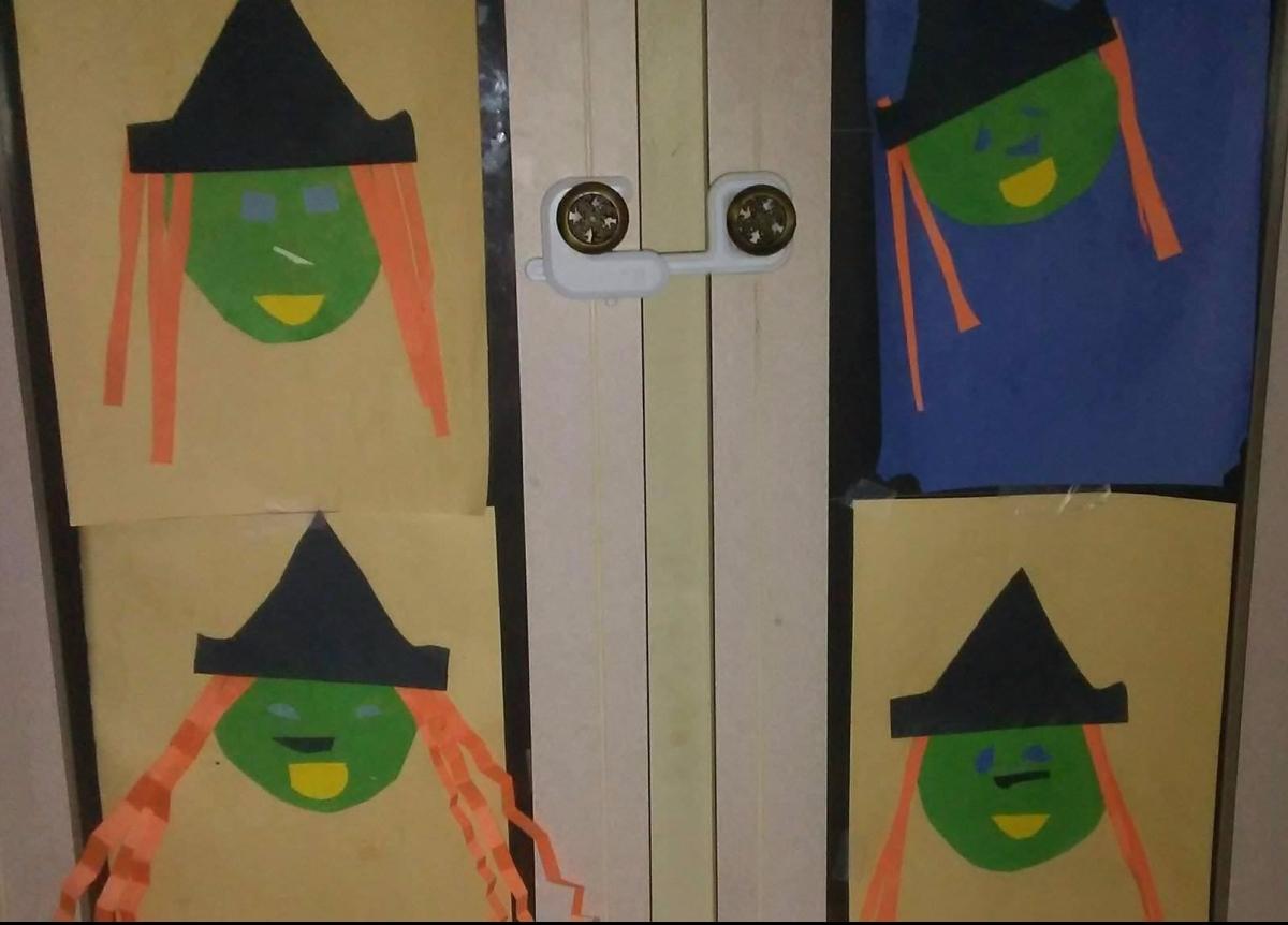 Toddler Time Halloween Craft Number1